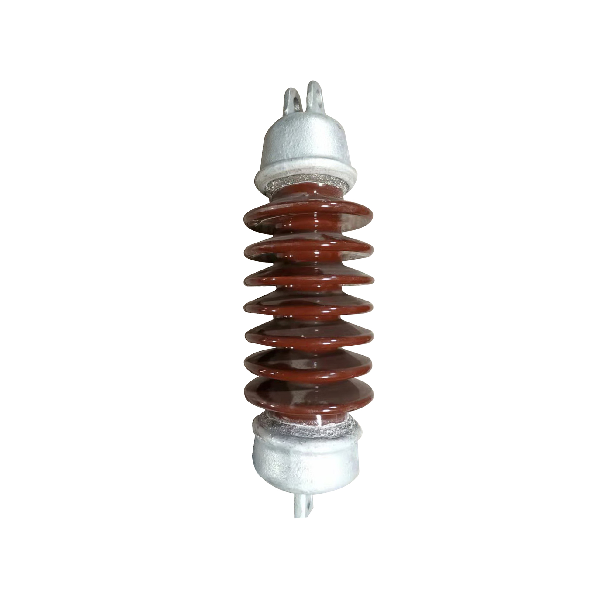 11KV High Voltage Electrical Porcelain Post Tension Insulator